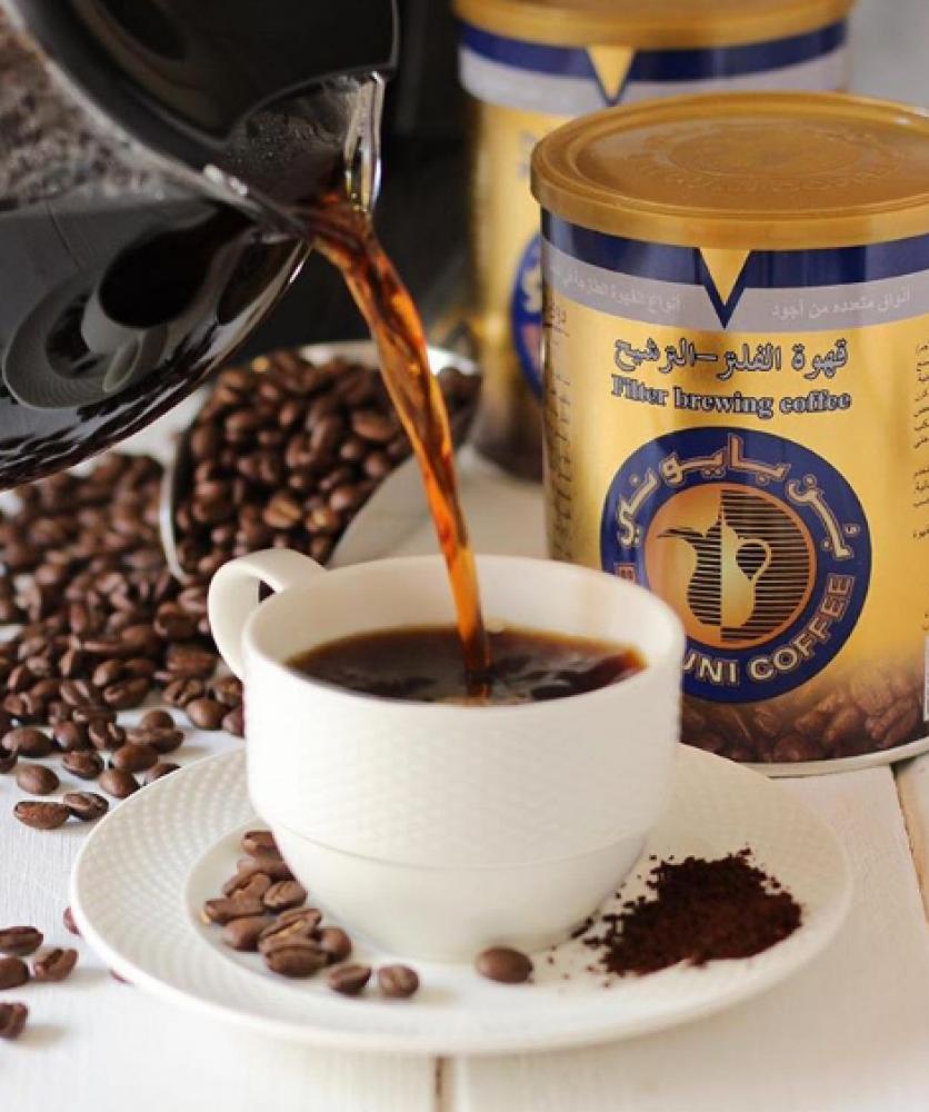 القهوة الأمريكية المفلترة البلاك كوفي