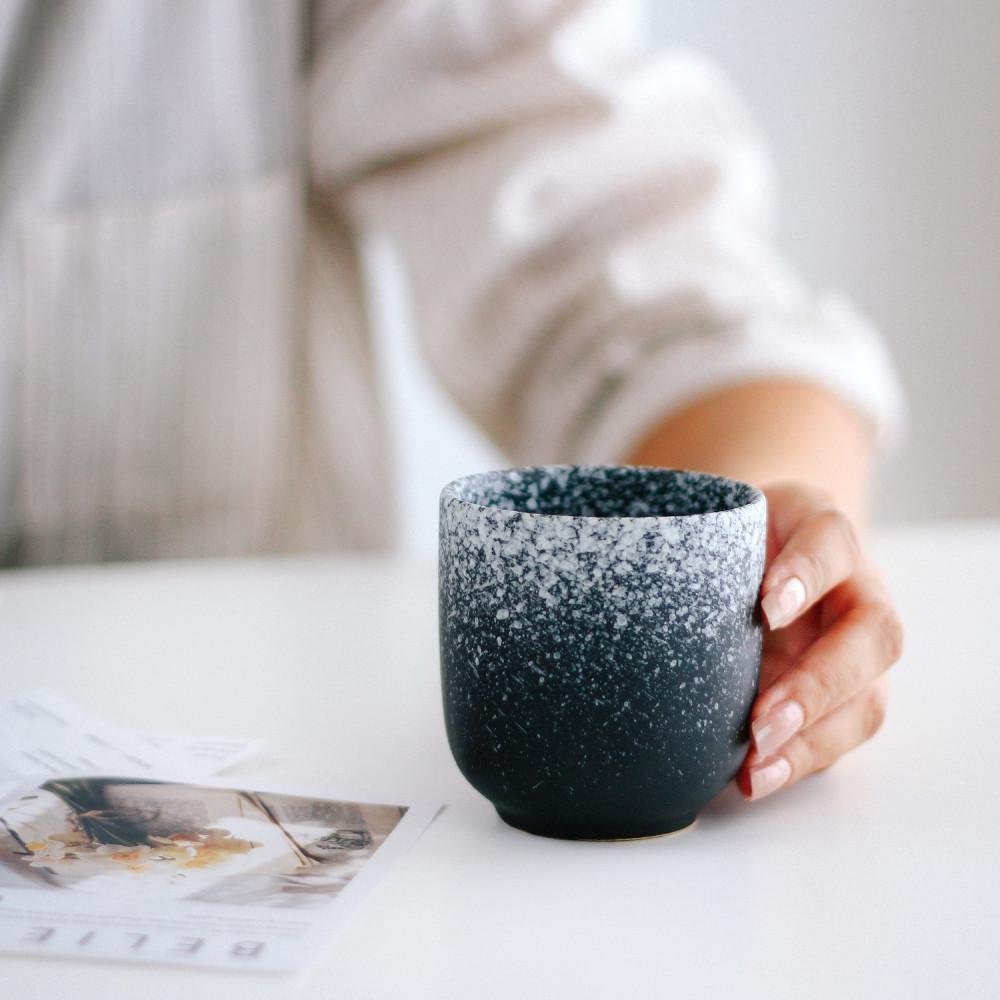 كوب قهوة حجري كوب لاتيه كوب هدية كوب خزف كوب اسبريسو كوب شايكوب قهوة ح