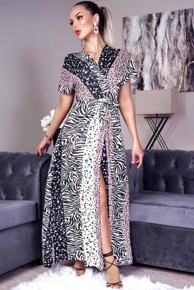 فستان زيبرا