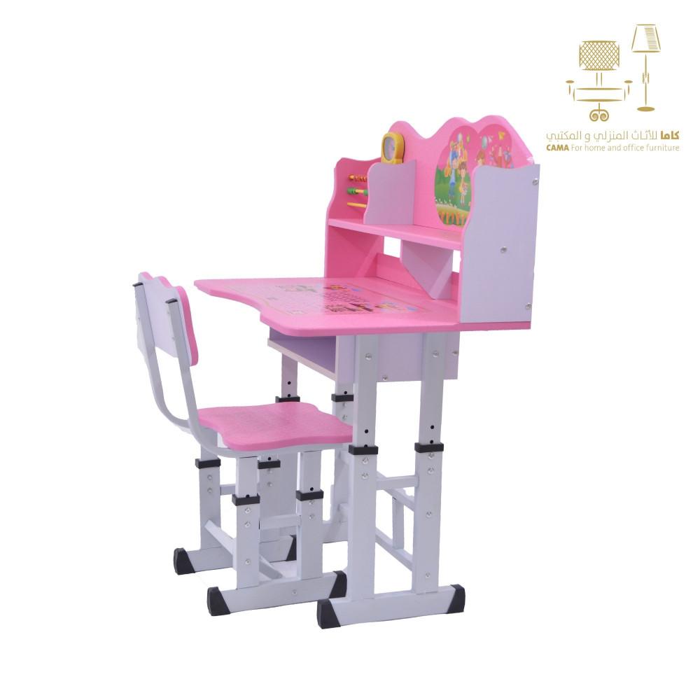 طاولة اطفال مدرسية وردي C-D-18 PINKE