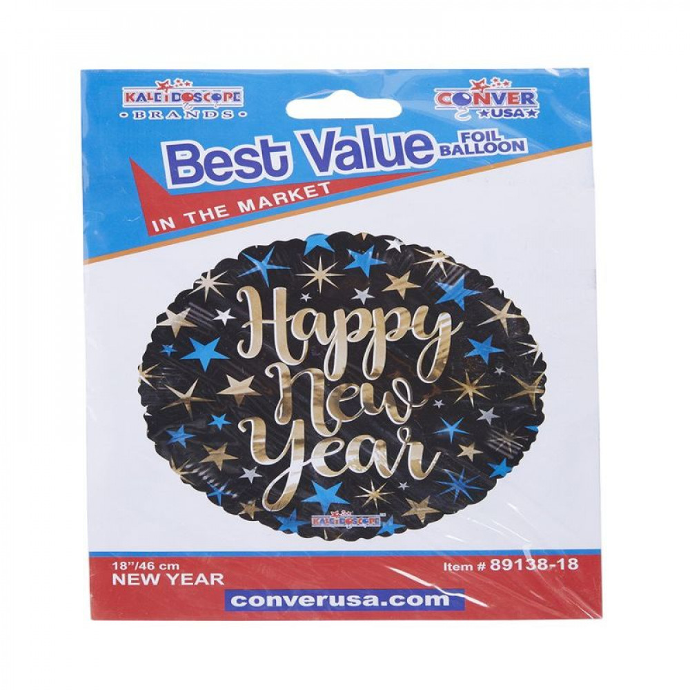 Happy New Year, Balloons, بالون السنة الجديدة, بلونات أشكال
