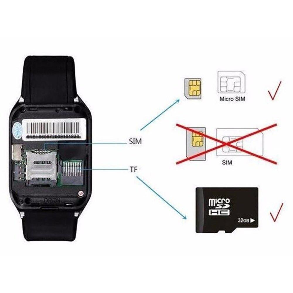 ساعة Q18 MTK6261D الذكية مع تطبيق فيسبوك وواتس أب