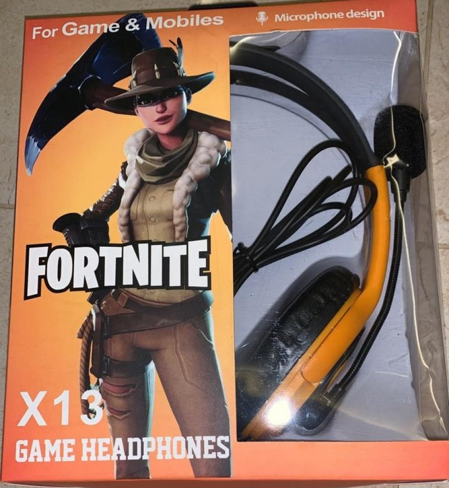 GAMING HEADFONE X13 FOR PS4 -xbox-pc
