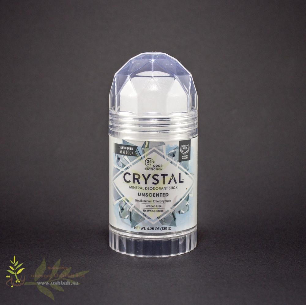 مزيل رائحة العرق بالمعادن 120ج من Crystal