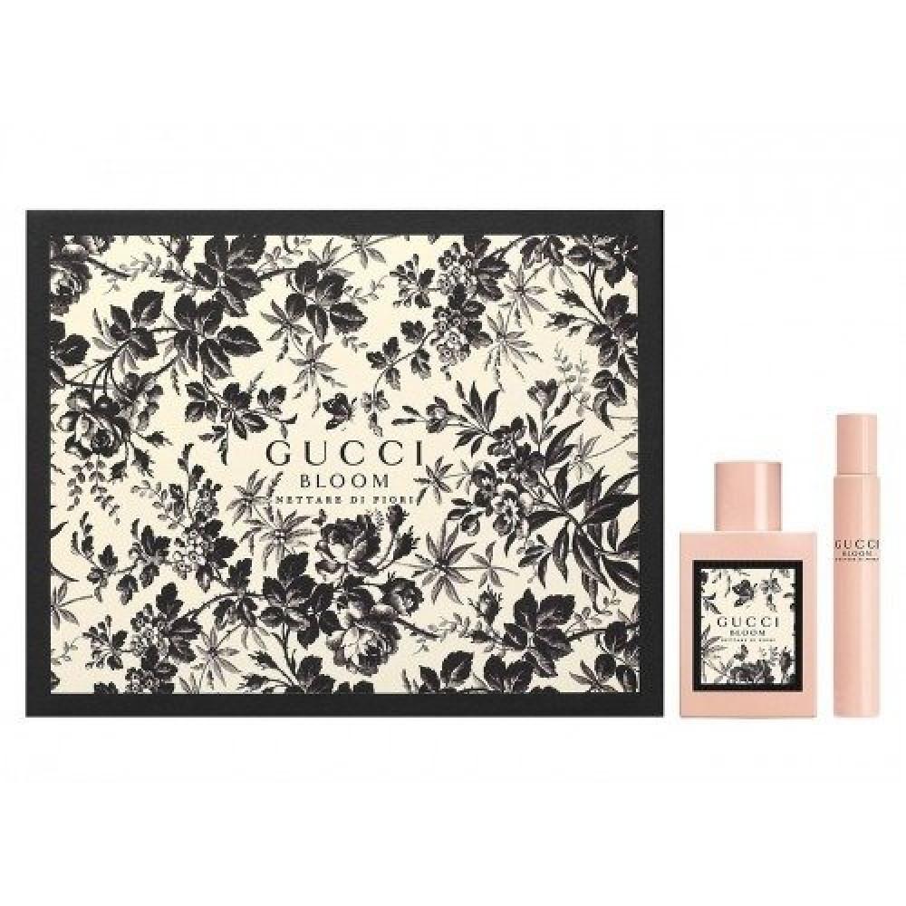 Gucci Bloom Nettare di Fiori Eau de Parfum Intense 100ml 2 Gft Set خبي
