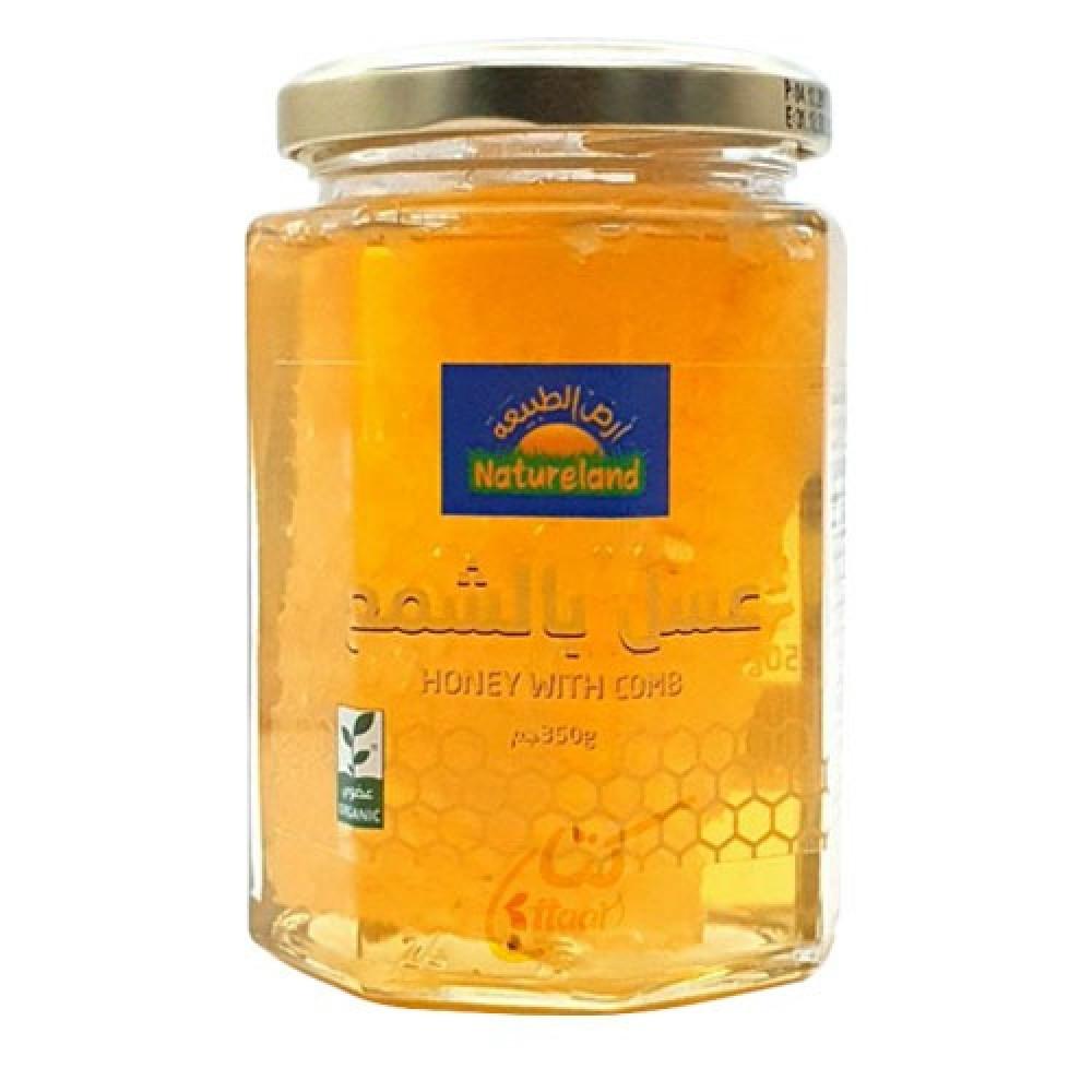عسل بالشمع عضوي 350 جرام