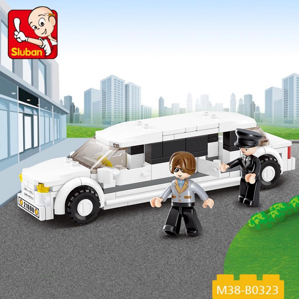 Sluban, Toy Limousine, العاب, سلوبان, قطع تركيب ليموزين, سيارة