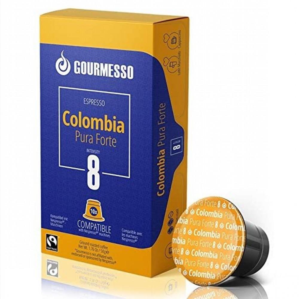 كبسولات جورميسو كولومبيا نسبريسو Gourmesso Colombia Nespresso Capsules