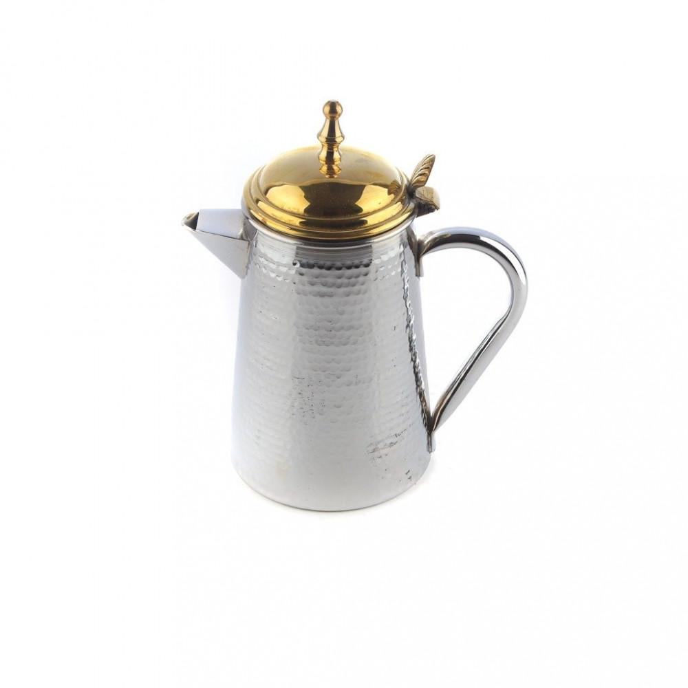 مفواح حليب فضي غطاء ذهبي م 1