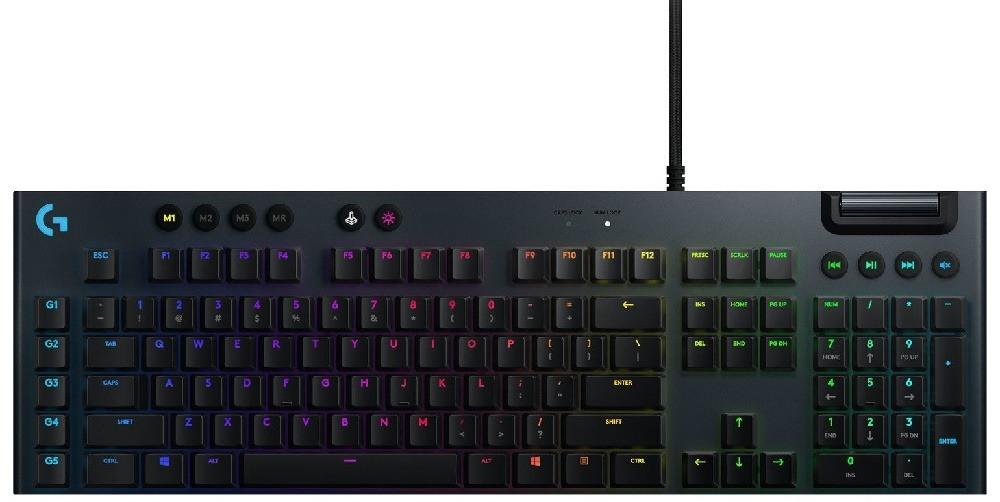 Logitech G815 RGB Mechanical Gaming Keyboard Clicky switch