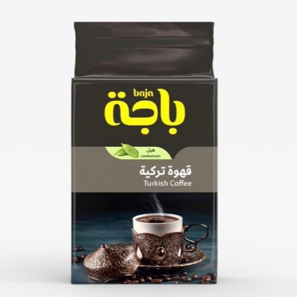 قهوة باجه تركية بالهيل 400جم متجر بوابة الشرق