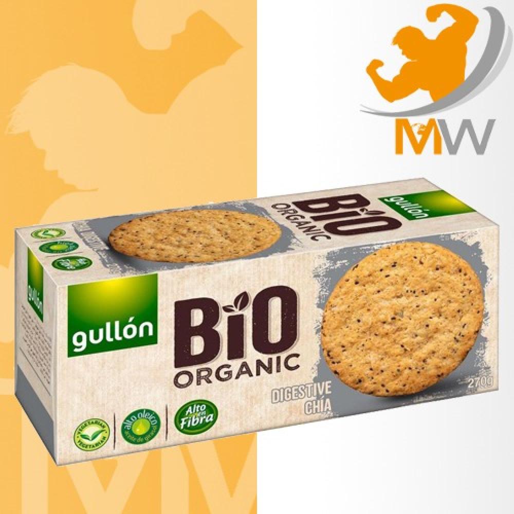 عالم العضلات مكملات غذائية عضوية Organic قولن بسكويت الحبوب الاربعه ال