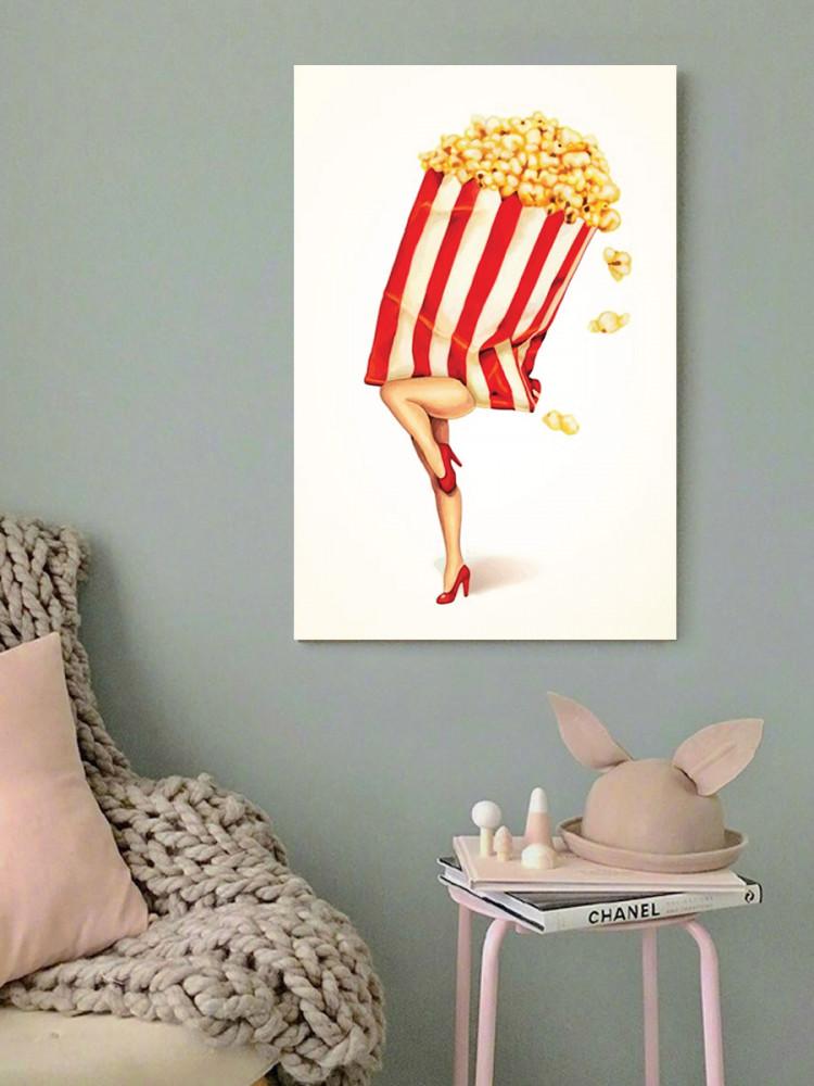 لوحة بوب كورن خشب ام دي اف مقاس 40x60 سنتيمتر