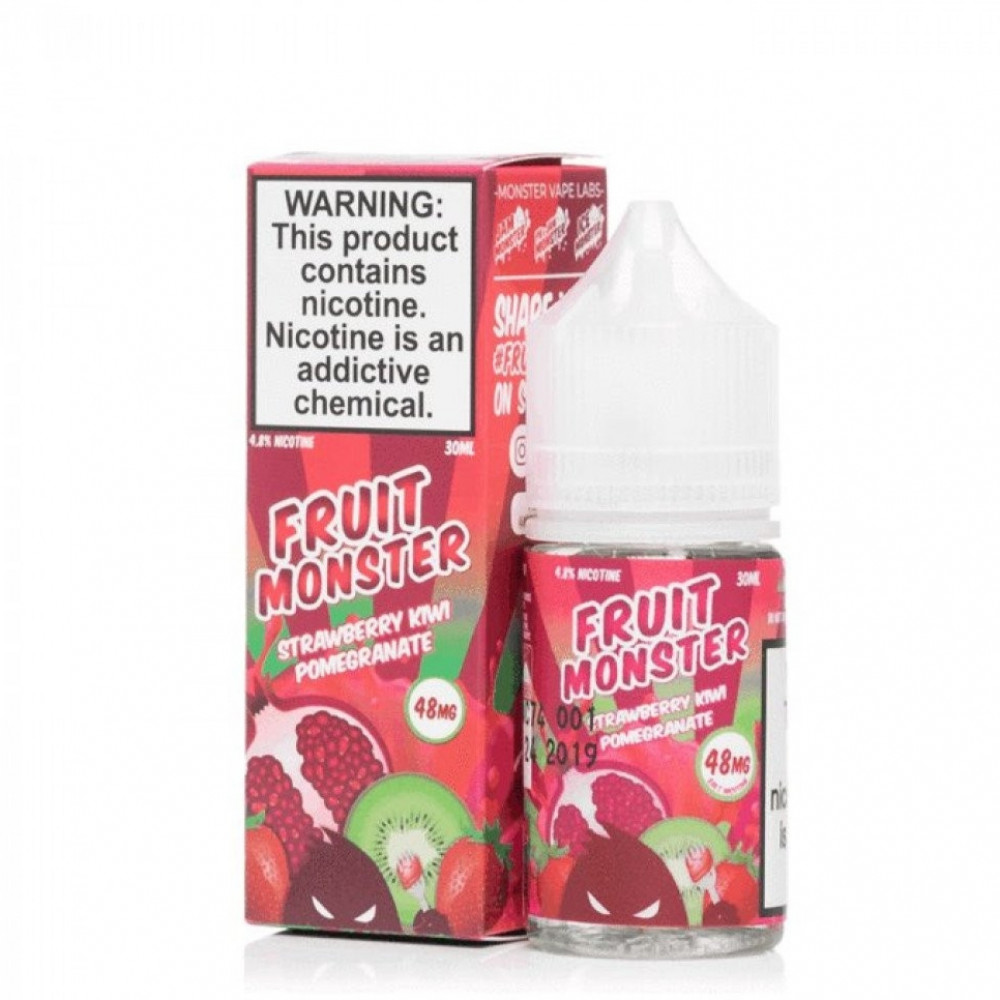 Fruit Monster Strawberry Kiwi Pomegranate - Salt Nicotine - شيشة سيجار