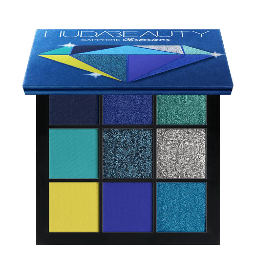 مجموعة ظلال عيون أوبسيشنز من هدى بيوتي ياقوت ازرق
