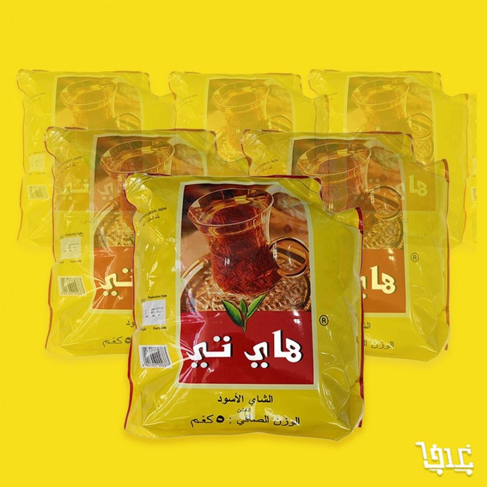 كرتون شاي هاي تي اسود فرط 5 كغم 2 حبة غدف ستور Ghadaf Store