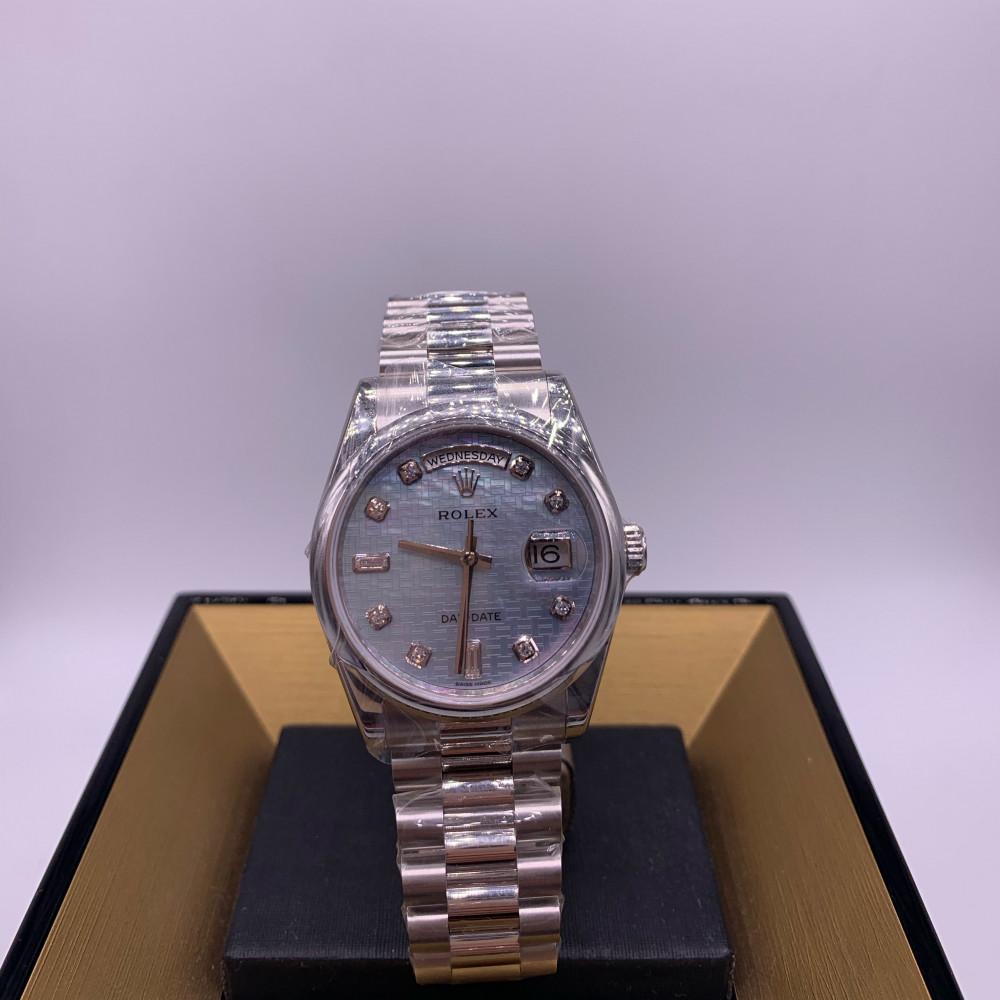 Rolex DayDate 36 Watch Platinum