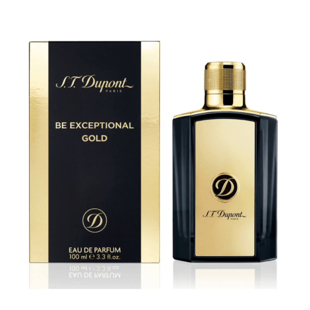 S T Dupont Be Exceptional Gold Eau de Parfum 100ml خبير العطور