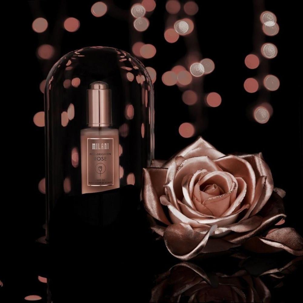 زيت الورد لتحضير و نظارة وتبييض البشرة من ميلاني -منتج امريكي