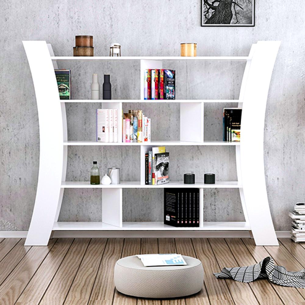 أفضل مكتبات الكتب خزانة خشب متعددة للكتب موديل هيليك تركية الصنع