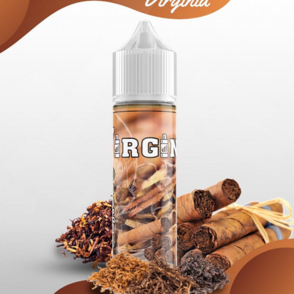 نكهة فيرجينيا تباكو -  Virginia - 60ML - شيشة سيجارة نكهات فيب Vape