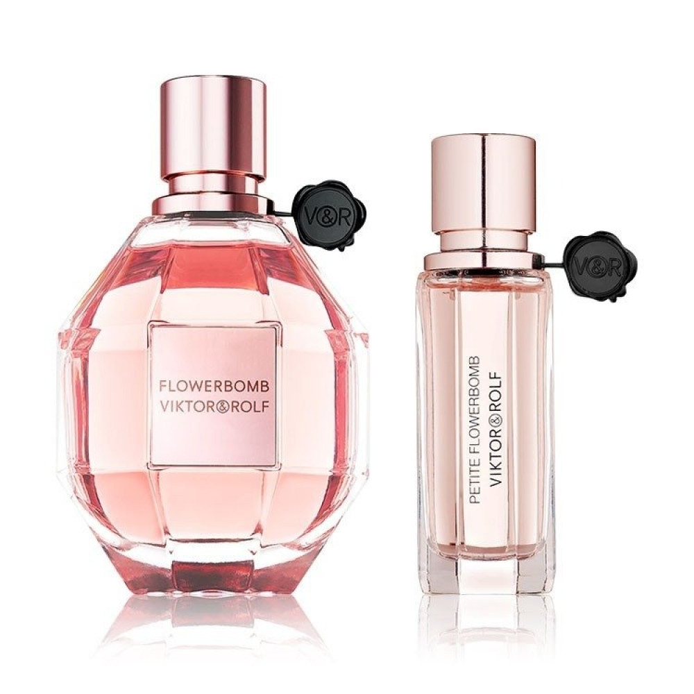 طقم فيكتور اند رولف فلور بومب flowerbomb midnight fragrance set