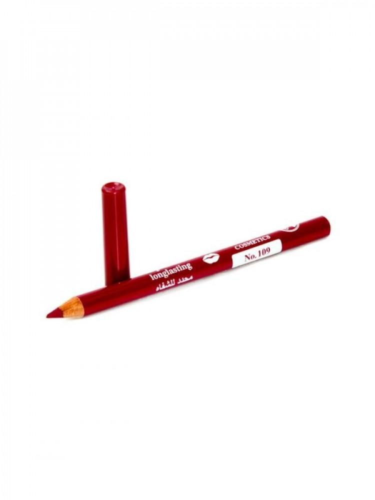 قلم تحديد شفايف طويل الامد من جيسيكا 109 احمر