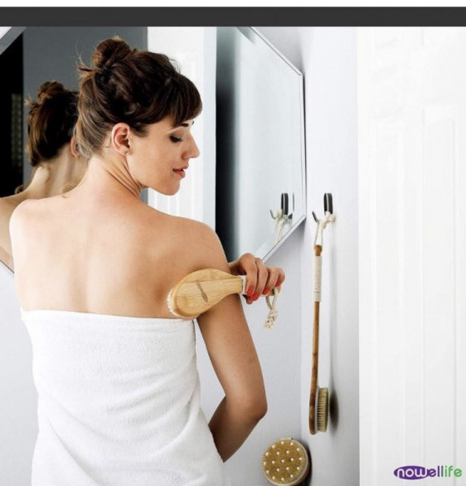 شراء فرشاة استحمام خشب - متجر فيوم