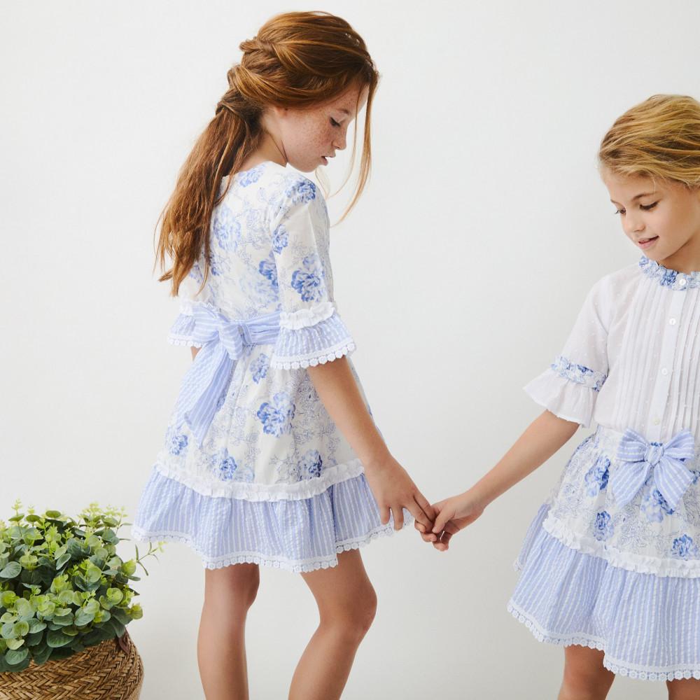 فستان-الورد-الازرق