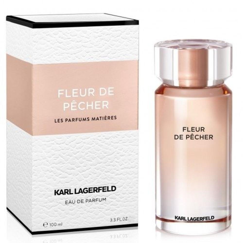 Karl Lagerfeld Fleur de Pecher Eau de Parfum 100mll خبير العطور