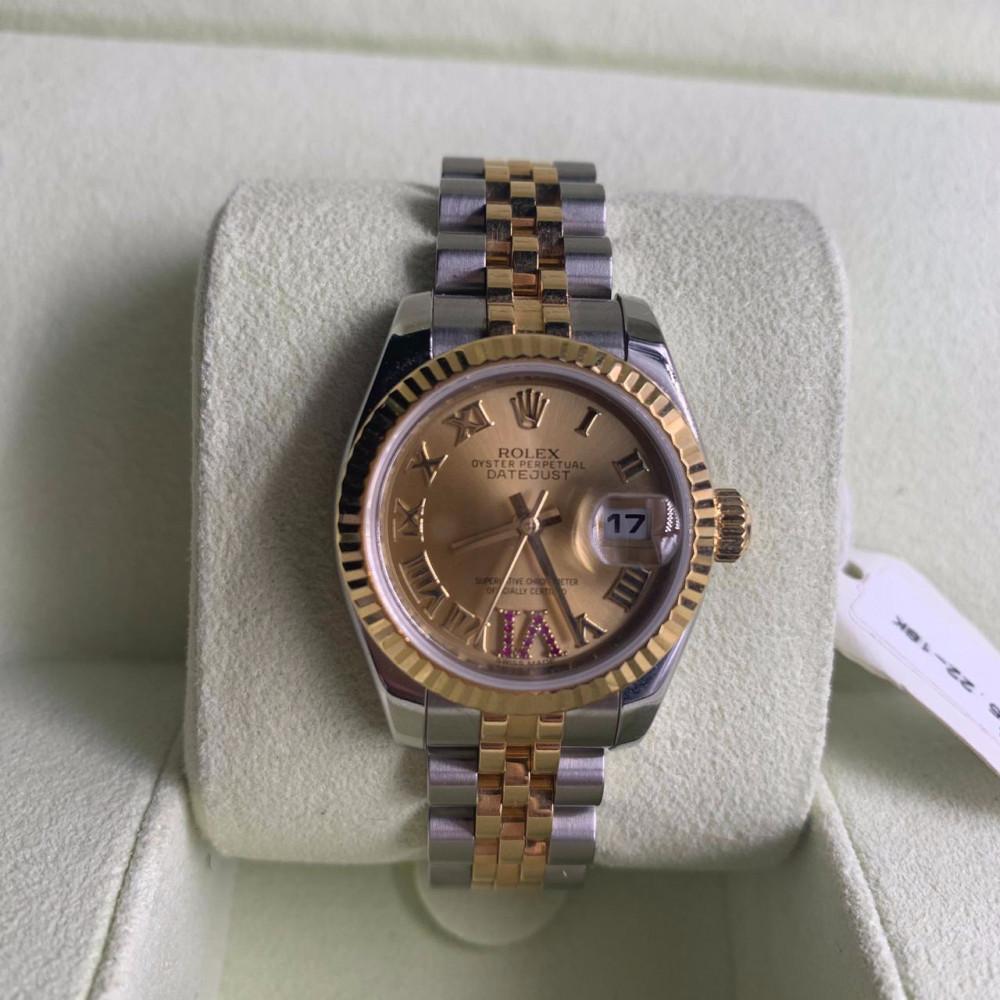 ساعة رولكس ديت جست الاصلية الثمينة مستعملة