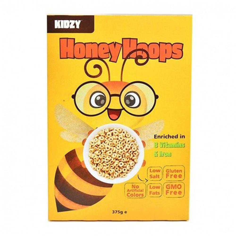 حلقات الذرة المغطاة بالعسل خالي من الجلوتين 375 جرام