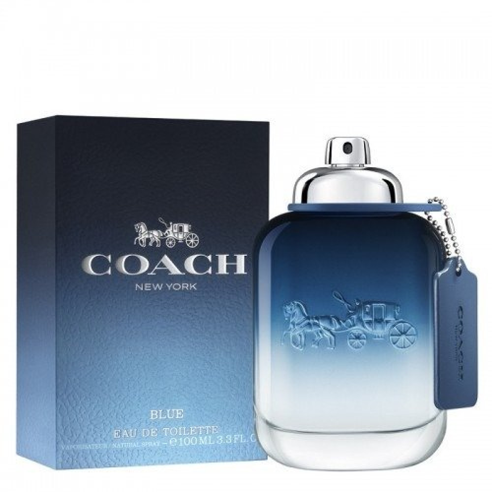 Coach New York Blue for Men Eau de Toilette 100ml خبير العطور
