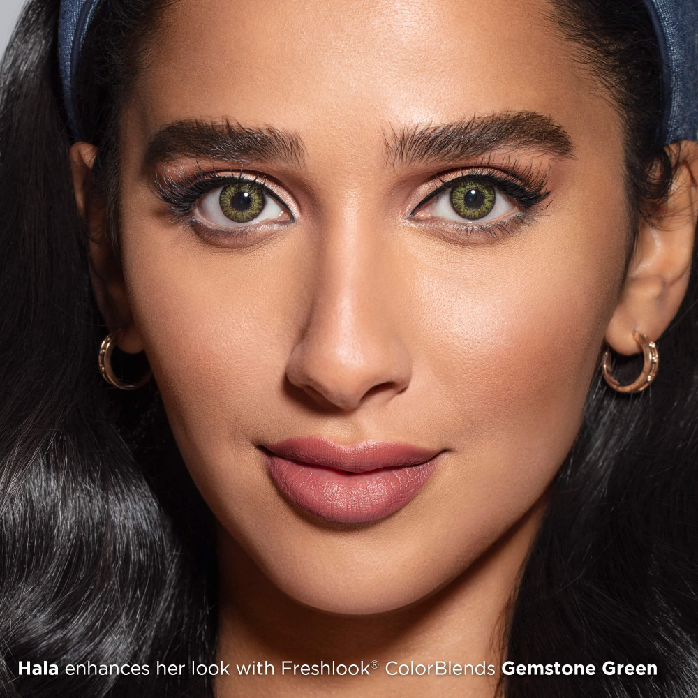 Freshlook Colorblends Gemstone Green