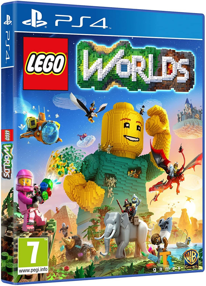 LEGO Worlds -PS4