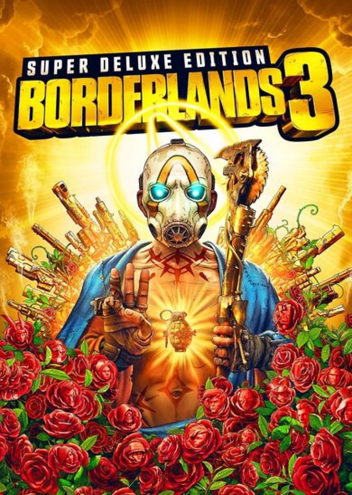 لعبة BORDERLANDS 3 الجديدة النسخة المطورة نسخة Deluxe edition على ابيك