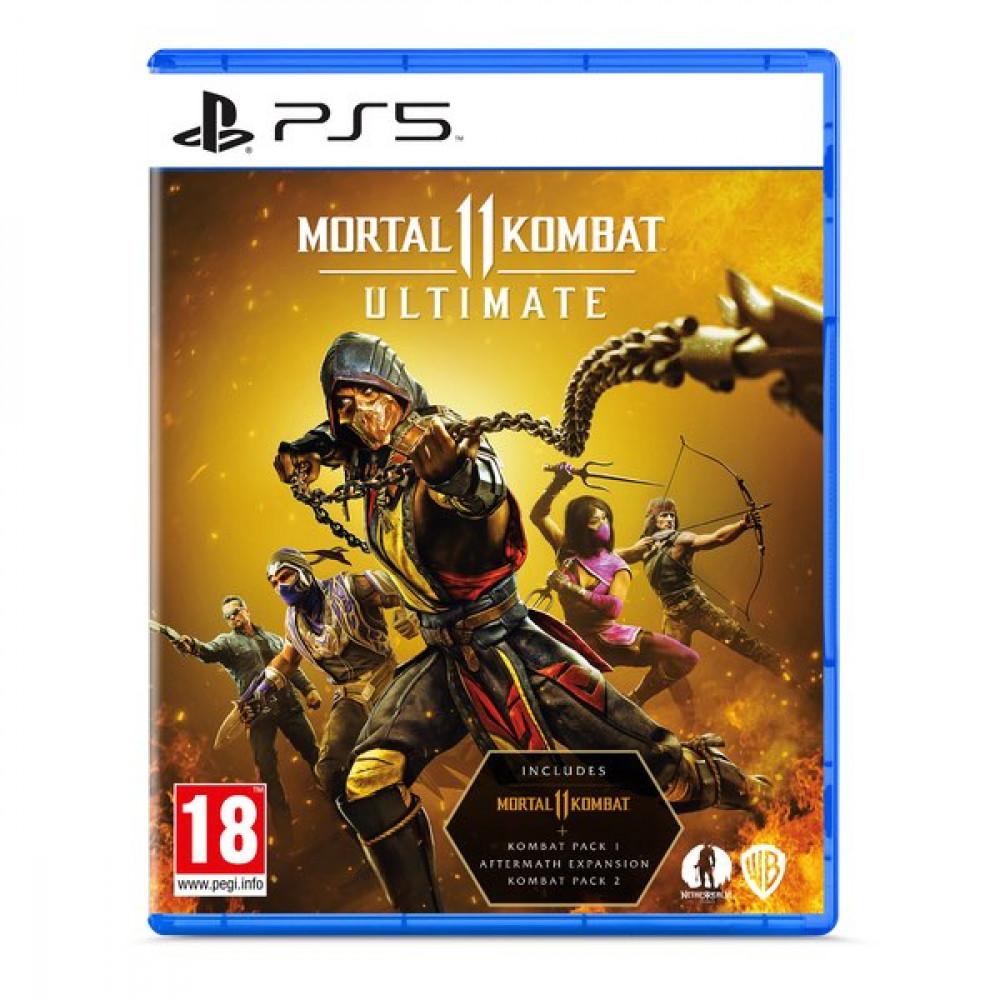 لعبة Mortal Kombat 11 Ultimate PS5 Game للبيع الان في السعودية