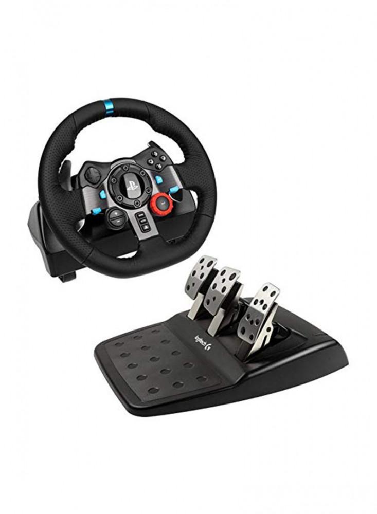 عجلة قيادة سيارات مع دواسة لجهاز بلايستيش دركسون G29  دواسة عجلة قيادة