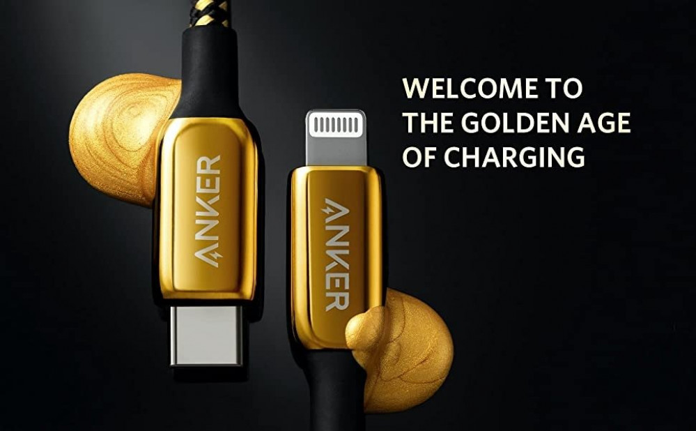 gold cable anker 24