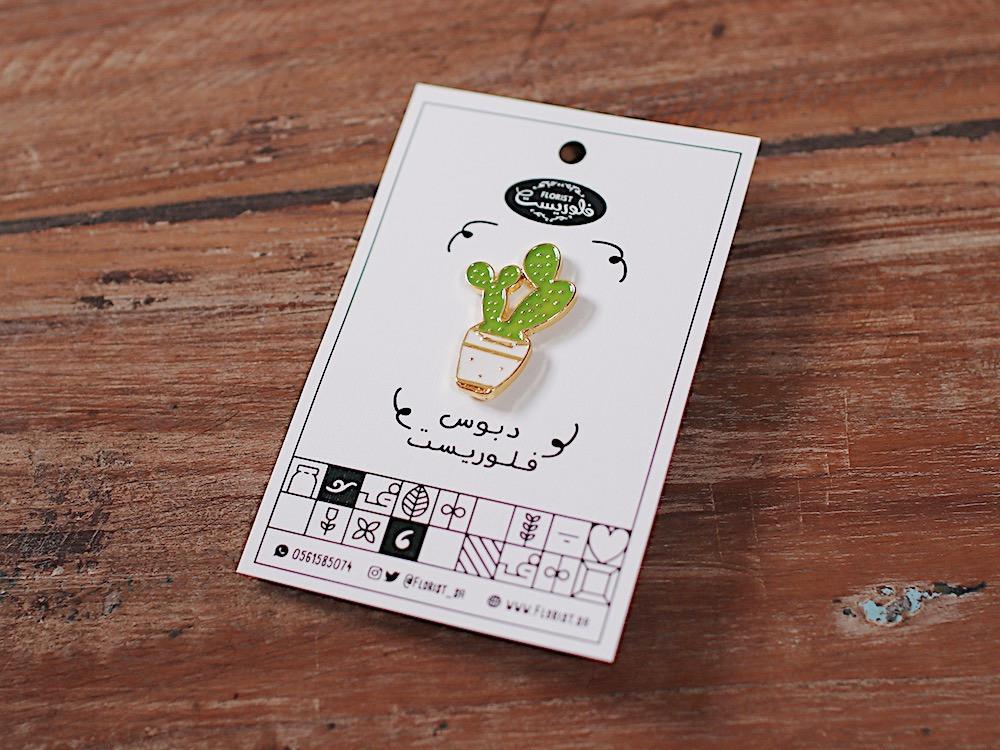 بروش نبتة صبار 3 مجموعة pins نباتات بروشات لمحبين النباتات