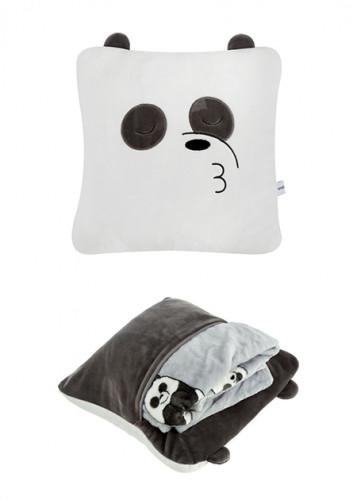 وسادة وبطانية من الدببة الثلاثة ميني سو Miniso حب الحياة حب ميني سو تسوق واحصل علي افضل الاسعار