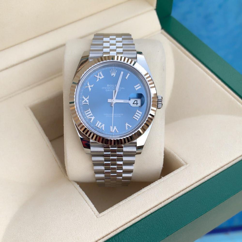 ساعة رولكس ديت جست الأصلية الثمينة جديدة تماما 126334