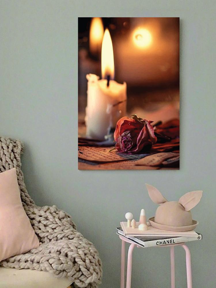 لوحة الشموع خشب ام دي اف مقاس 40x60 سنتيمتر