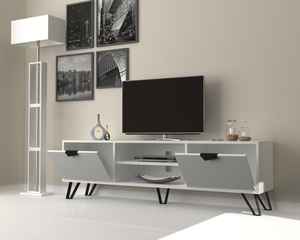 مواسم طاولة تلفاز أنيقة متعددة الاستخدام بتصميم جذاب يتناسب مع الموضة