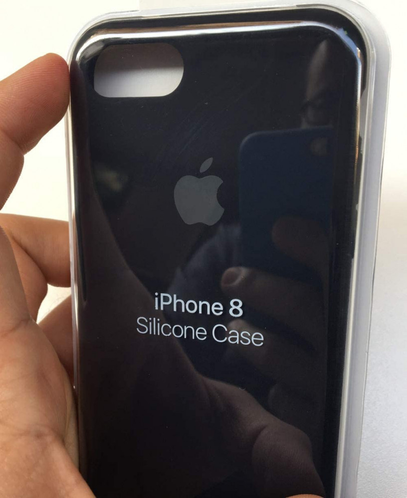 iPhone 8 -iPhone 7 Silicone Case  - Black