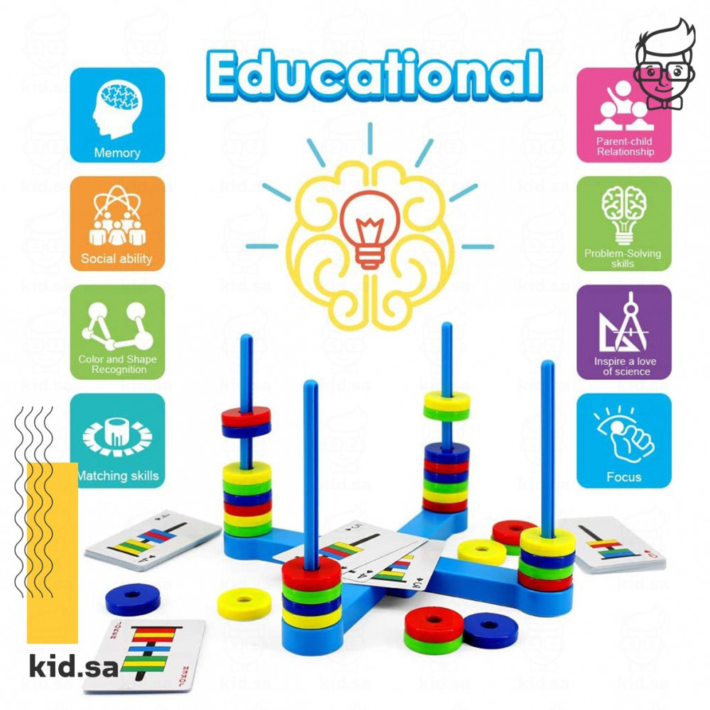 مهارات اللعبة الجماعية التعليمية لزيادة تركيز الاطفال