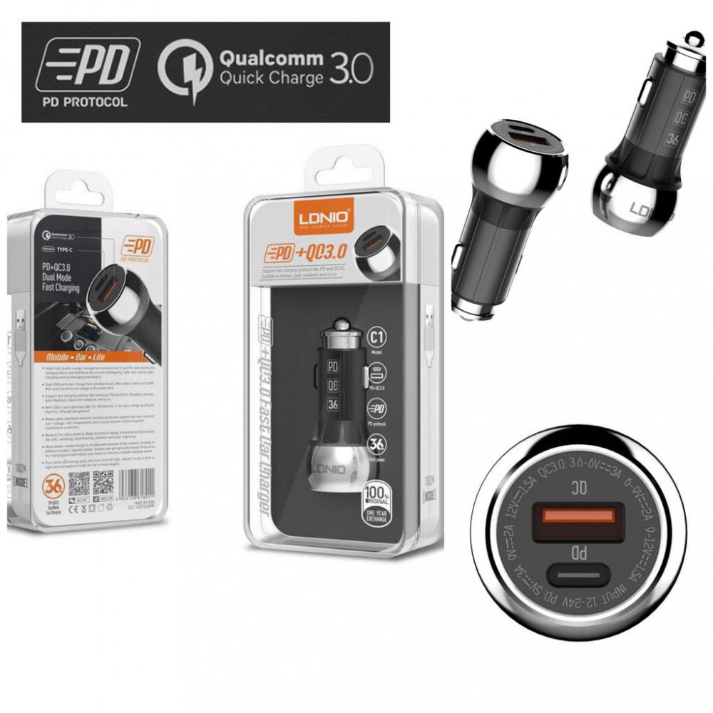 Ldniocar charger fast