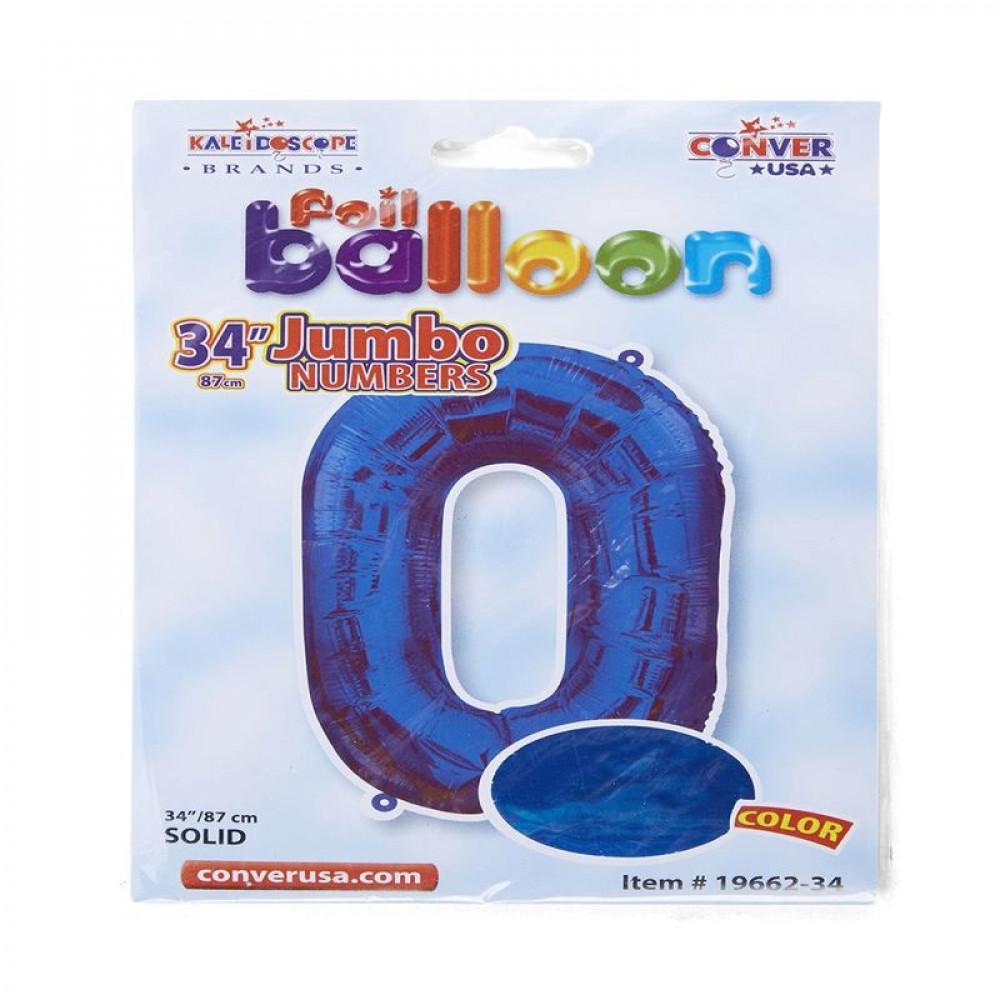 بالون أزرق, بالون رقم 0, Blue Balloon, بلونات أرقام