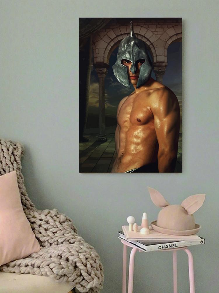 لوحة الرجل خشب ام دي اف مقاس 40x60 سنتيمتر