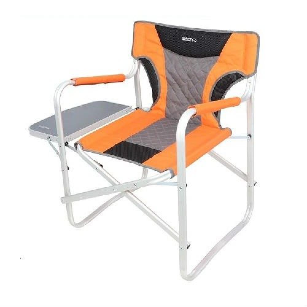 كرسي المخرجين رصاصي- برتقالي - رمادي